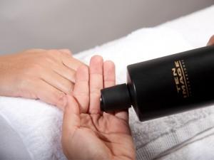 desinfectar manos