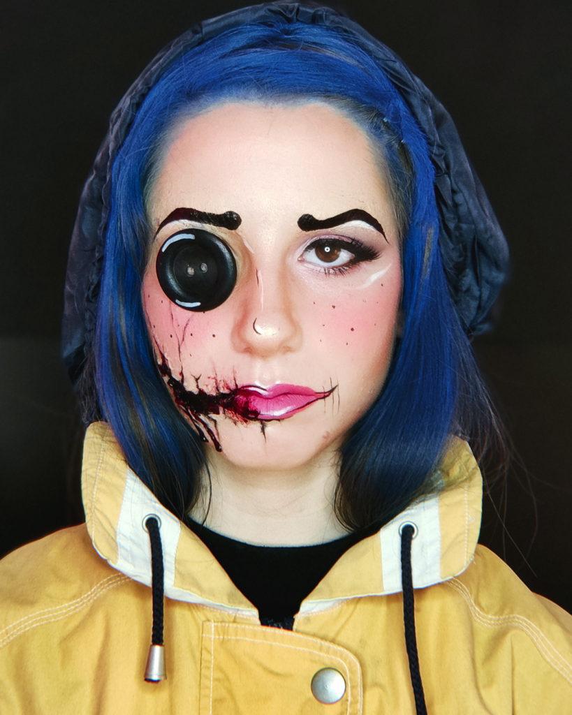 maquillaje de terror para este Halloween 2020