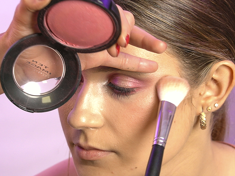 maquillaje efecto glow