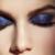 maquillaje de ojos con tonos azules